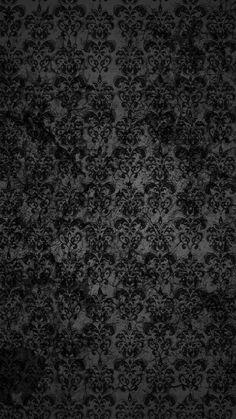 Black Lace Dark Grunge Pattern iPhone 6 Plus HD Wallpaper 1 - pix wallpapers