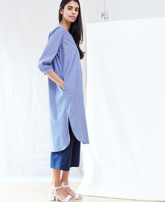 Anomaly Essential Shirt Dress - Not Everything To Everyone