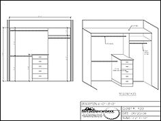 symmetrical master walk in closet dimensions - Google Search