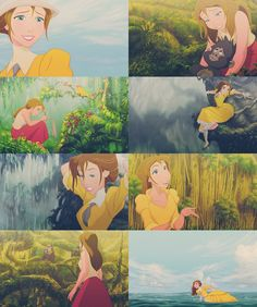 Jane Porter <3 I re-watched Tarzan yesterday and now I absolutely love her <3