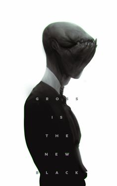 Gross is the new black by Robotpencil on deviantART