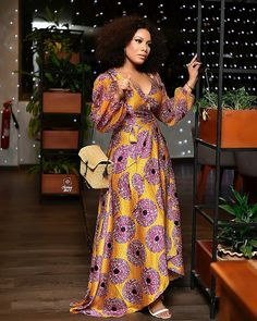 ankara stil 38 Ideas style femme afro nigerian fashion for 2019 African Party Dresses, Latest African Fashion Dresses, African Print Dresses, African Print Fashion, African Dress, Ankara Fashion, Nigerian Fashion, African Clothes, African Prints