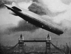 One of the terrors of WWI - zeppelin raids