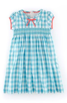 Mini Boden 'Pretty' Smocked Dress (Toddler Girls, Little Girls & Big Girls) available at #Nordstrom