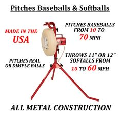 ea00277224e3dbac31e6820eb79e87c9 softball pitching machine baseball pitching pitching machines 58061 the first pitch original baseball Game Master Pitching Machines at eliteediting.co