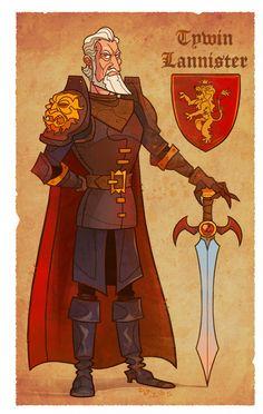 Tywin_Lannister by Garvals.deviantart.com on @deviantART
