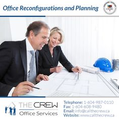 The Crew is proud to help clients not just with the installation of new or pre-owned office furniture or office reconfigurations of existing workstations, but with complete space planning services. Office Moving, Office Furniture, Budgeting, How To Plan, Space, Design, Display, Budget Organization, Design Comics