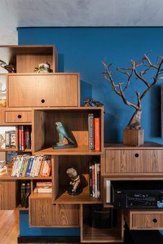 Muitas vezes uma simples decoração pode mudar todo um ambiente, como por exemplo os nichos que alem de embelezar, são capazes de auxiliar na organização.