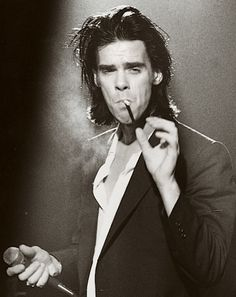 Nick Cave: on GQ's 'Most Stylish Musicians' list Nick Cave, Susie Cave, Pop Rock, Rock And Roll, James Dean, Music Icon, My Music, Hard Rock, Red Right Hand