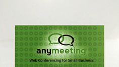 What You Can Do With AnyMeeting Web Conferencing and Webinar Software. Watch this brief overview of the AnyMeeting small business web confer...