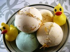 """Make your own Bath Bombs - I was just thinking about these the other day... Now to try. First to learn where to buy citric acid, and what """"mineral salts"""" are. These both sound like things I should know, but I'm coming up blank..."""