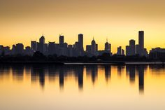 https://flic.kr/p/vvLfWo | A New Day Dawns | Melbourne's CBD from Fishermans Bend, Port Melbourne