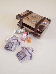 Skal du til konfirmation og mangler du inspiration til pengegaver til konfirmand& Wedding Present Ideas, Wedding Gifts, Creative Gift Wrapping, Creative Gifts, Diy Gifts, Best Gifts, Money Origami, A Little Party, Inspirational Gifts