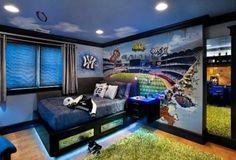 Luminaire-chambre-garcon-idees-conception-pour-planification-maison-interieur-chambre-deco-avec-lit-garçon-ado-et-table-de-chevet-noir-ajoutée-eclairage-led-lit-aussi-bien-que-mur-thème-baseball.jpg (730×495)