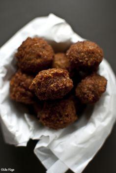 (in hungarian) Epic Fail, Falafel, Tahini, Hummus, Vegetarian Recipes, Almond, Paleo, Lunch, Eat