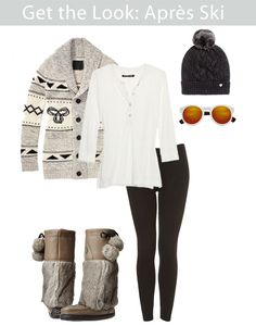 Look Après-Ski Chic Without Even Hitting the Slopes Cute Apres Ski Outfit Apres Ski Mode, Apres Ski Party, Fall Winter Outfits, Autumn Winter Fashion, Winter Holiday, Winter Wear, Apres Ski Outfits, Holiday Party Outfit, Party Outfits