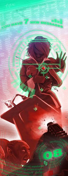 Shadowrun Missions Artwork by *raben-aas on deviantART