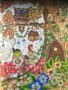 Ivy and the inky butterfly ❤Johanna Basford coloring book