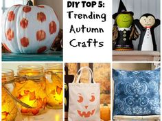 Trending on Pinterest: 5 DIY Crafts for the Fall Season