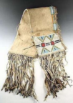 19th Century Sioux beadwork saddle bag that sold for $9,775
