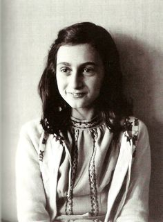 """I still believe, in spite of everything, that people are really good at heart.""--Anne Frank"