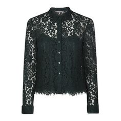 Green Lace Button Th