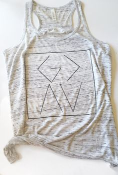 God is Greater Than the Highs and Lows Women's Racerback Trendy Boho Tank by PolishedNickel