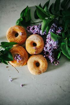 Lilac Sugar Donuts | The Fifth Watches // Minimal meets classic design: www.thefifthwatches.com