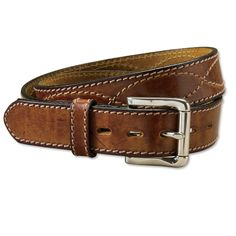 Made in USA, Made in America.  Brown Leather Belt for Men - Crossroads Belt -- Orvis on Orvis.com!