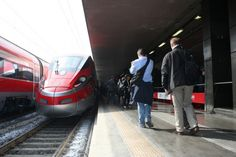 Il Frecciarossa 1000 in sosta a Roma Termini – Foto Francesco Pizzuti - Gazzetta dei Trasporti | IlPendolare Magazine
