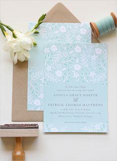 Lovely wedding invite suite designed by J Amber Creative. #wchappyhour #weddingchicks http://www.weddingchicks.com/2014/07/11/wedding-chicks-happy-hour-26/