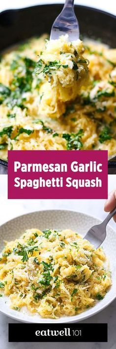 Count 15 minutes prep for this hearty low-carb dinner, made healthier with spaghetti squash. eatwell101.com
