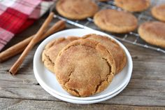Tasty Kitchen Blog: Brown Butter Snickerdoodle Cookies. Guest post by Maria Lichty of Two Peas and Their Pod, recipe submitted by TK member Monique of Ambitious Kitchen.