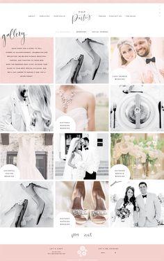 Brand and Website Design :: Pop Parties - Saffron Avenue : Saffron Avenue