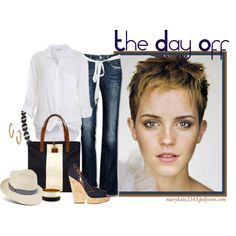 """""""The Day Off"""" by marykate2345 on Polyvore"""