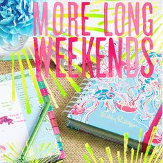 Lilly Pulitzer Agendas- best way to stay organized in style. I LOVE mine! :D