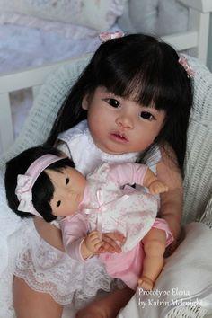Reborn Prototype Toddler Doll Elena by Regina Swialkowski Katrin McKnight