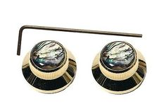 Mighty-Mite-Knob-Bell-Gold-Abalone-2-Piece