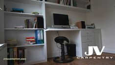 Fitted office desks, Electric and Boiler cupboards, custom whine racks, chest of drawers best at our fitted furniture company JV carpentry Stair Storage, Cupboard Storage, Under Stairs Cupboard, Bespoke Furniture, Furniture Companies, Carpentry, Home Office, Corner Desk, Drawers