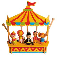 Circus Theatre   Wooden Toy Store