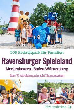 Comer See, Ravensburger Spieleland, Road Trip, Action, Baseball Cards, Ivy, Berlin, Travel, Holiday Destinations