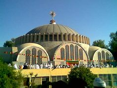 Axum St. Mary Zion church - built by Emperor Haile Selassie in the '60's.