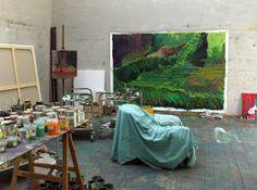 Das Atelier in Hellerup. (bron: KUNST Magazin)l