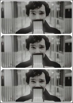 Sherlock season 3.3 even though I hated this beginning with a passion who could resist his face?