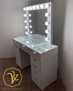 Makeup Vanity Mirror With Lights, Victoria, Bedroom, Furniture, Home Decor, Dressing Tables, Stuff Stuff, Dressers, Tatuajes