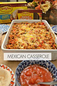 Mexican Casserole recipe | amotherworld | www.amotherworld.com
