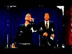 Jimmy Fallon & Justin Timberlake History of Rap -Beginning of Rap -  The video quality is terrible but still it is hilarious