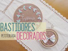 Petite Blasa: Bastidores decorados con Diy Box
