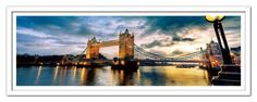Modrest London Bridge Framed Acrylic Painting VGSCFW-SH-7991