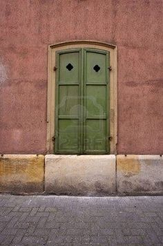 Old Windows and Shutters in Speyer, Germany